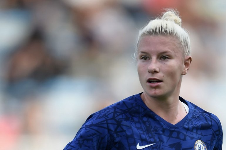 Beth England playing for Chelsea FC. (Getty Images)