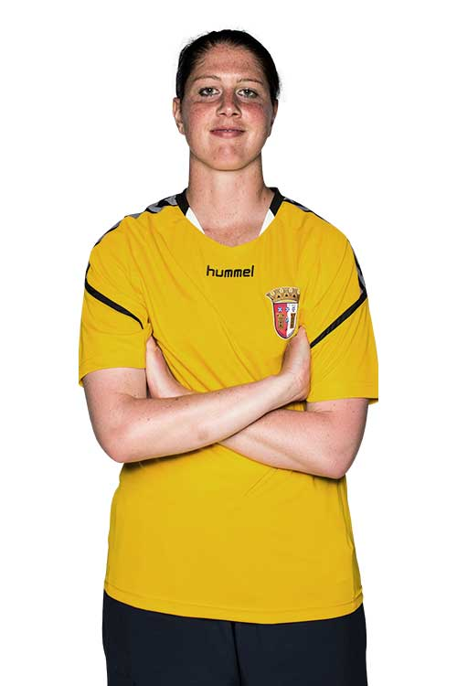 Marie Hourihan headshot for SC Braga. (SC Braga)
