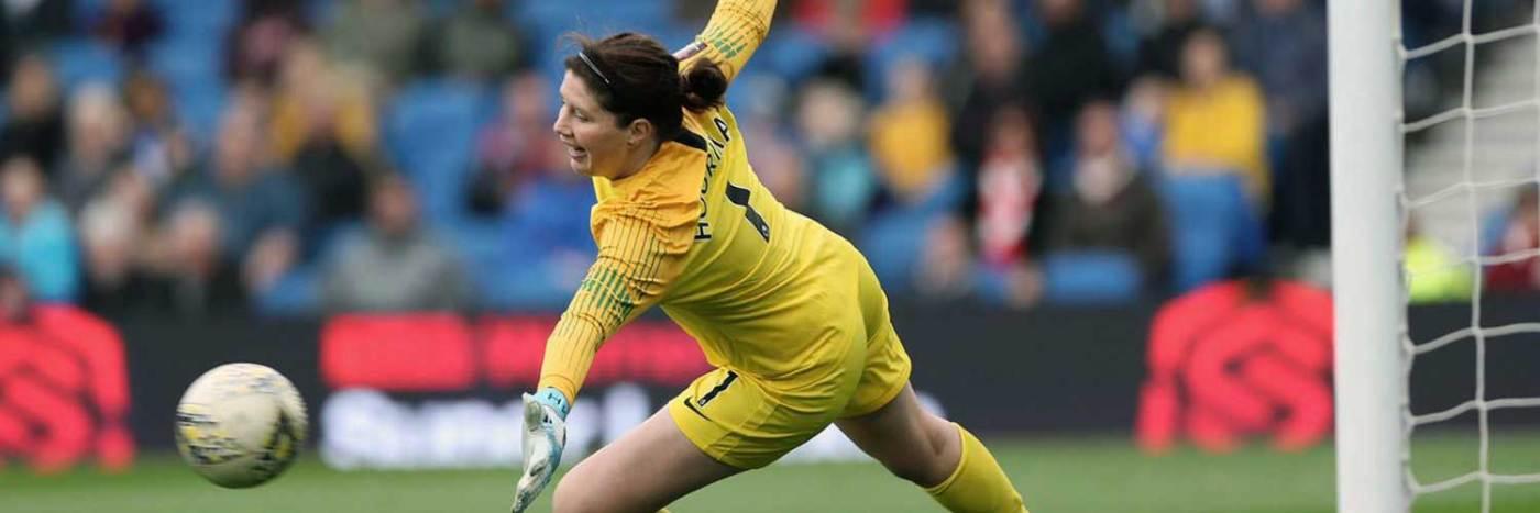 Goalkeeper Marie Hourihan. (Marie Hourihan/Twitter)