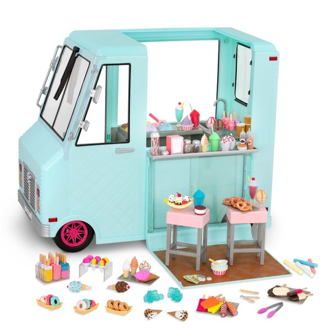 Our Generation Vehicles Sweet Stop Ice Cream Truck