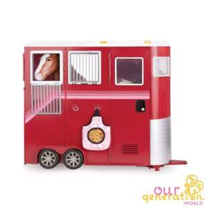 Our Generation Deluxe Mane Attraction Horse Trailer