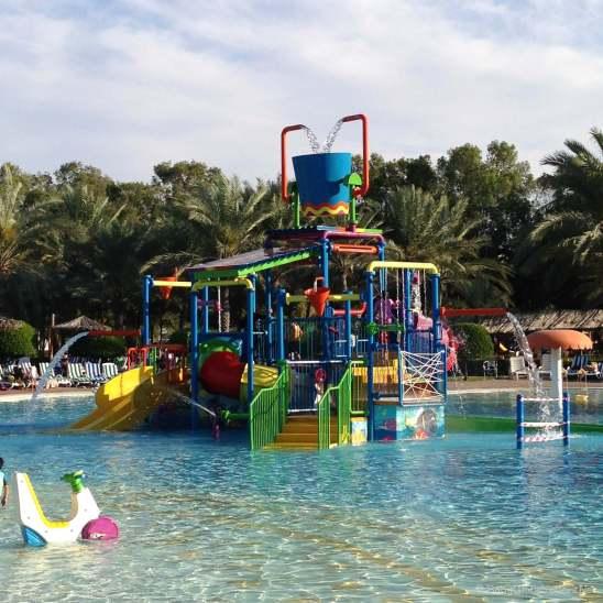Kids splash area at Dreamland
