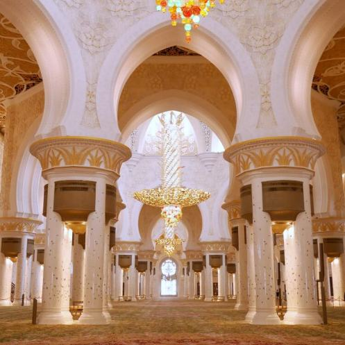 Sheikh Zayed Grand Mosque | How to visit and photograph the Grand Mosque with Kids | Our Globetrotters