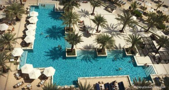 Doubletree Marjan Island Lobby Pool