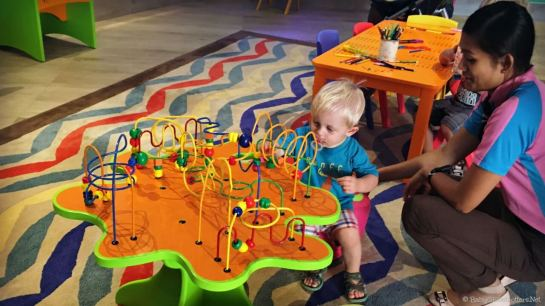 Doubletree Marjan Island Kids Club   OurGlobetrotters.Com