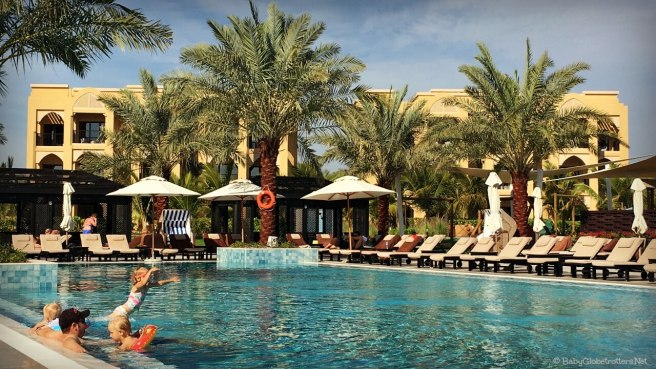 Doubetree Marjan Island main swimming pool | Hotel Review | OurGlobetrotters.Com