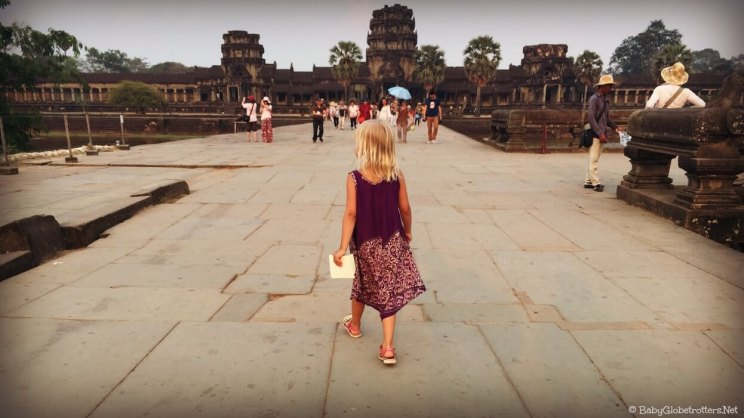Angkor Wat & Siem Reap Cambodia with Kids | OurGlobetrotters.Com