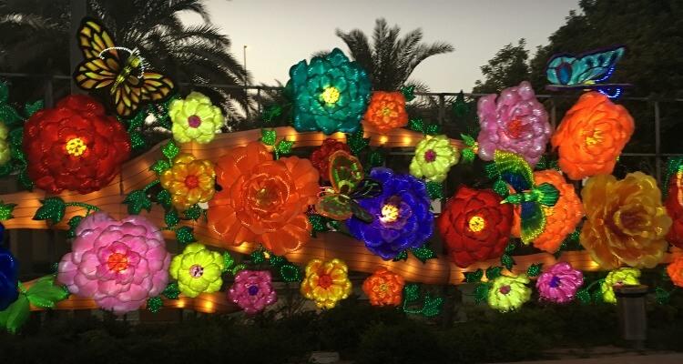 Dubai Garden Glow Dinosaur Park With Kids Our Globetrotters
