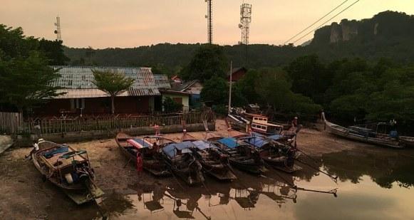 The Village behind Phi Phi Island Village Beach Resort