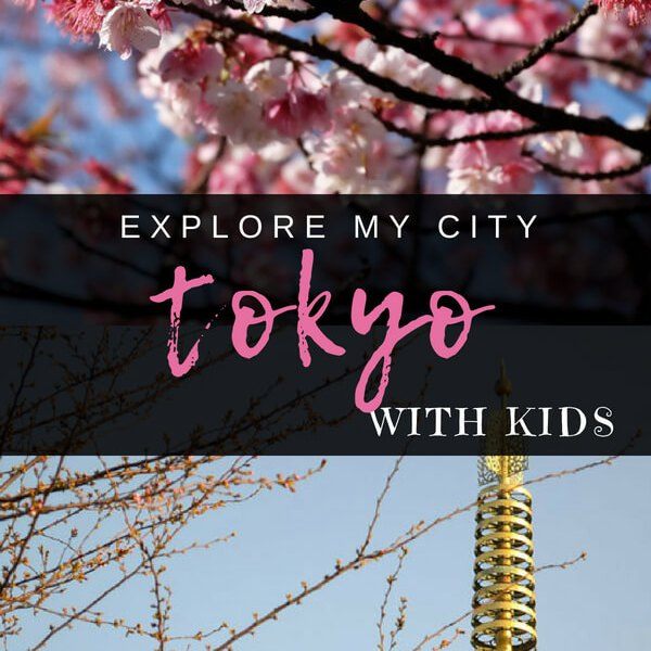 Tokyo with Kids - An insiders guide on how to get around and the best places to explore in Tokyo with Kids. Dad of triplets Wisterian Watertree lives in Tokyo and shares all with us on Explore My City - how to do it like the locals!