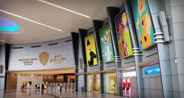 Entrance and ticketing   WB World Abu Dhabi Family Review