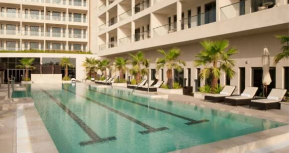 Staybridge Suites Pool best hotel apartments in Abu Dhabi