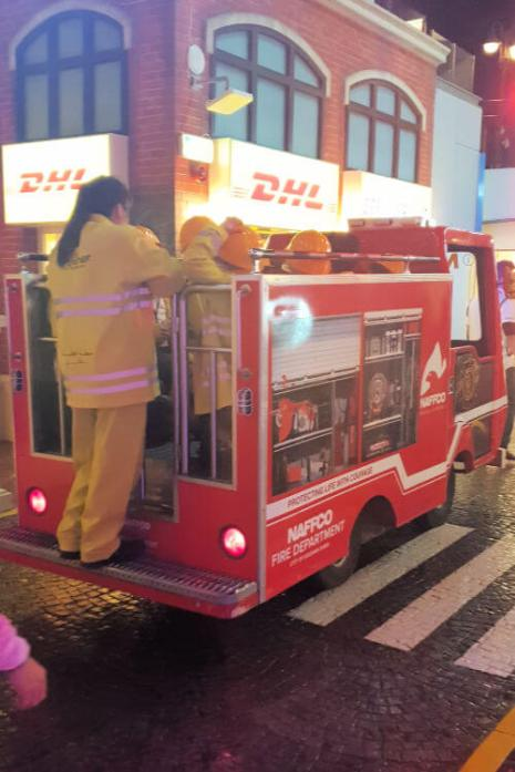 Kidzania Dubai Review | Fire engine