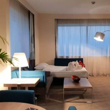 Living Room Area | Novotel World Trade Centre Dubai Family Review