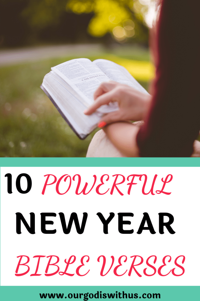 10 Powerful verses for the New Year
