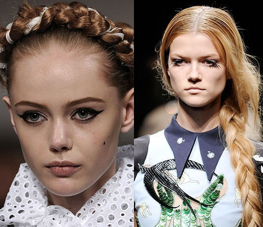 The Hairstyles from the Runways
