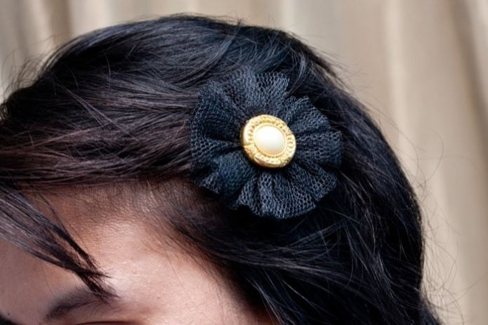 Easiest  DIY Hairclip You Can Make