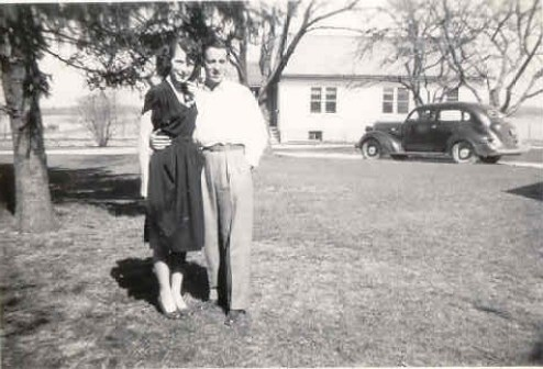 Lois and Ed Springsteen, Mothers Day 1947