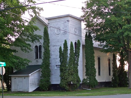 The former Methodist church and Masonic temple, Sheridan, 2006