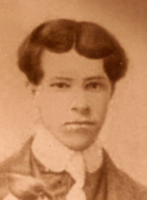 Avey C G Case, from a family portrait held by several members of the Edwin Case family