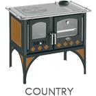 Cucina a legna Country potenza 7,6 kW pietra ollare