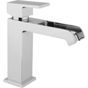 "DaxR-dax Miscelatore lavabo ""WATER FALL"" con scarico simple rapid"