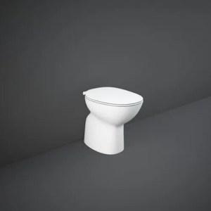 RAK-MORNING WC a pavimento Rimless