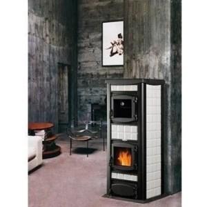 Termo stufa a legna Italia 30 caldaia e forno potenza 30 kW