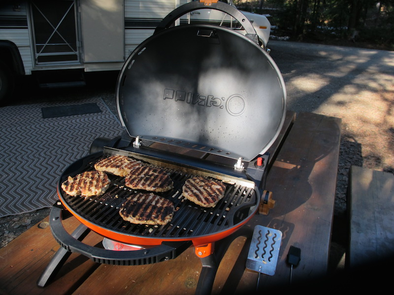 O-Grill 1000 (or Q-Grill) by iroda | Our Home Has 6 Wheels