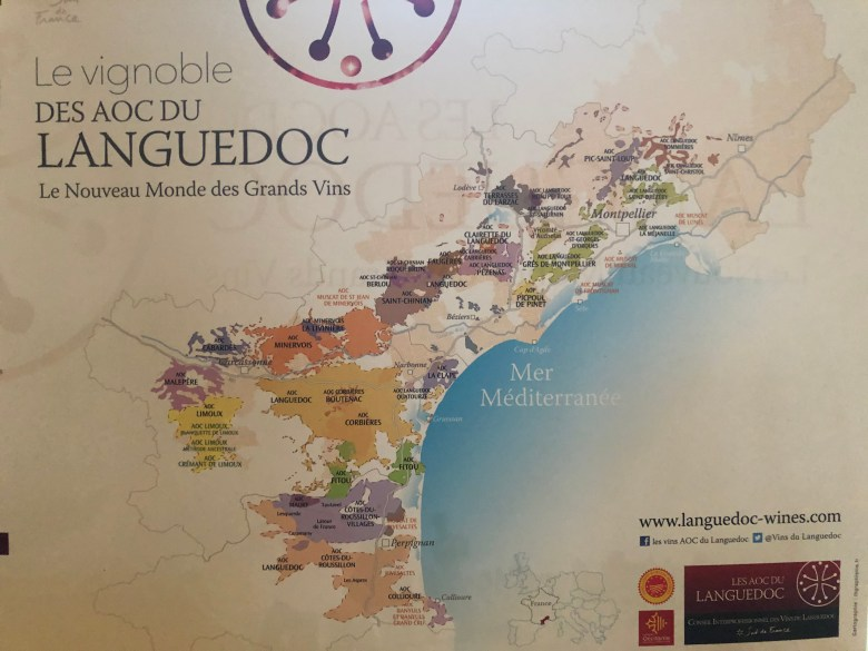 Map of Languedoc Wine Region Carcassonne Wine Excursions