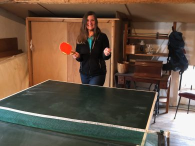Staying-home-in-Carcassonne-Ping-Pong- Vibeke