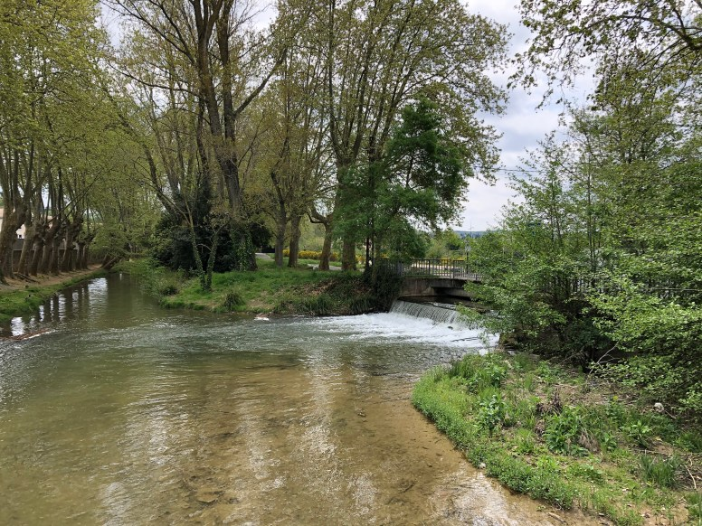 View of Little Aude River