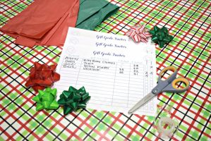 Keeping Track of your Gifts + Free Printable