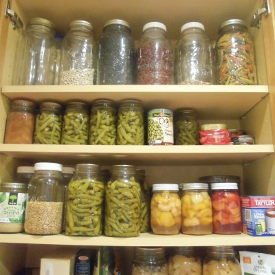 My Pantry-What I Keep Instock