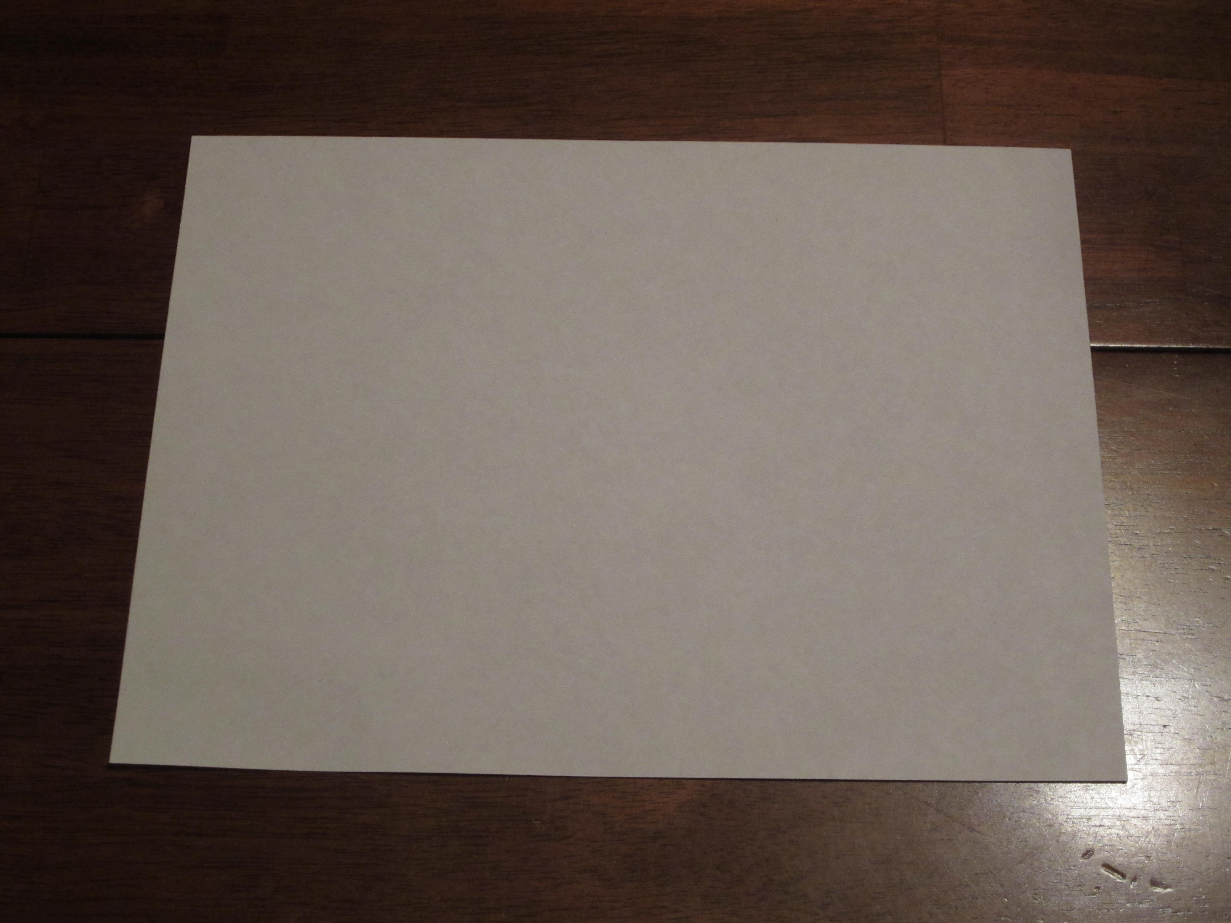 How to make scrapbook with construction paper - Start With A Sheet Of Paper Either Construction Paper Or Scrapbooking Paper Work Great This Is A 8 10 Piece I Am Using