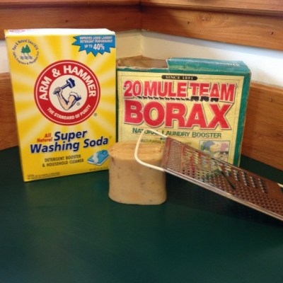 Show Your Plastic Challenge: Homemade Laundry Soap