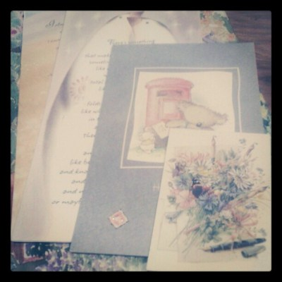 """February Photo a Day Challenge – Day 4 """"Letter"""""""