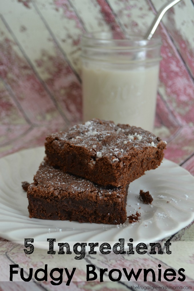 5 Ingredient Fudgy Brownies Finished