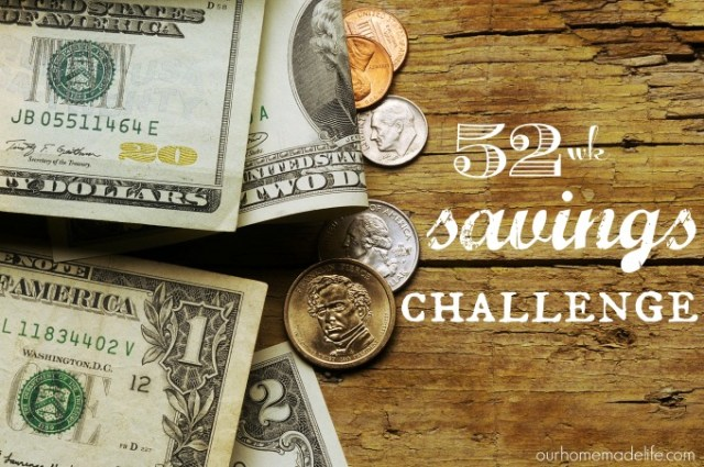 52 week savings challenge title photo