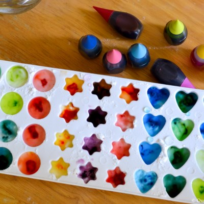 Kid Craft Fun: Homemade Watercolor Paints