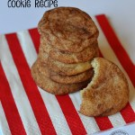 Snickerdoodle Dairy Free Cookie Recipe