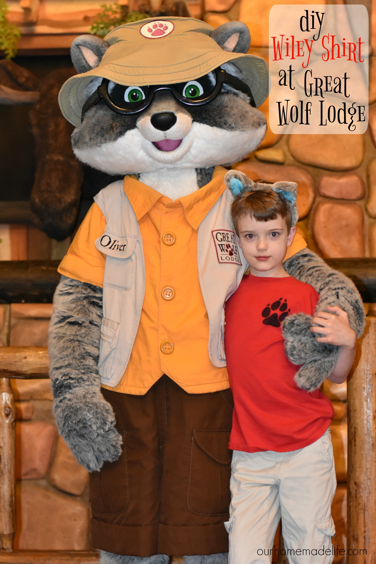 DIY Great Wolf Lodge Wiley Shirt