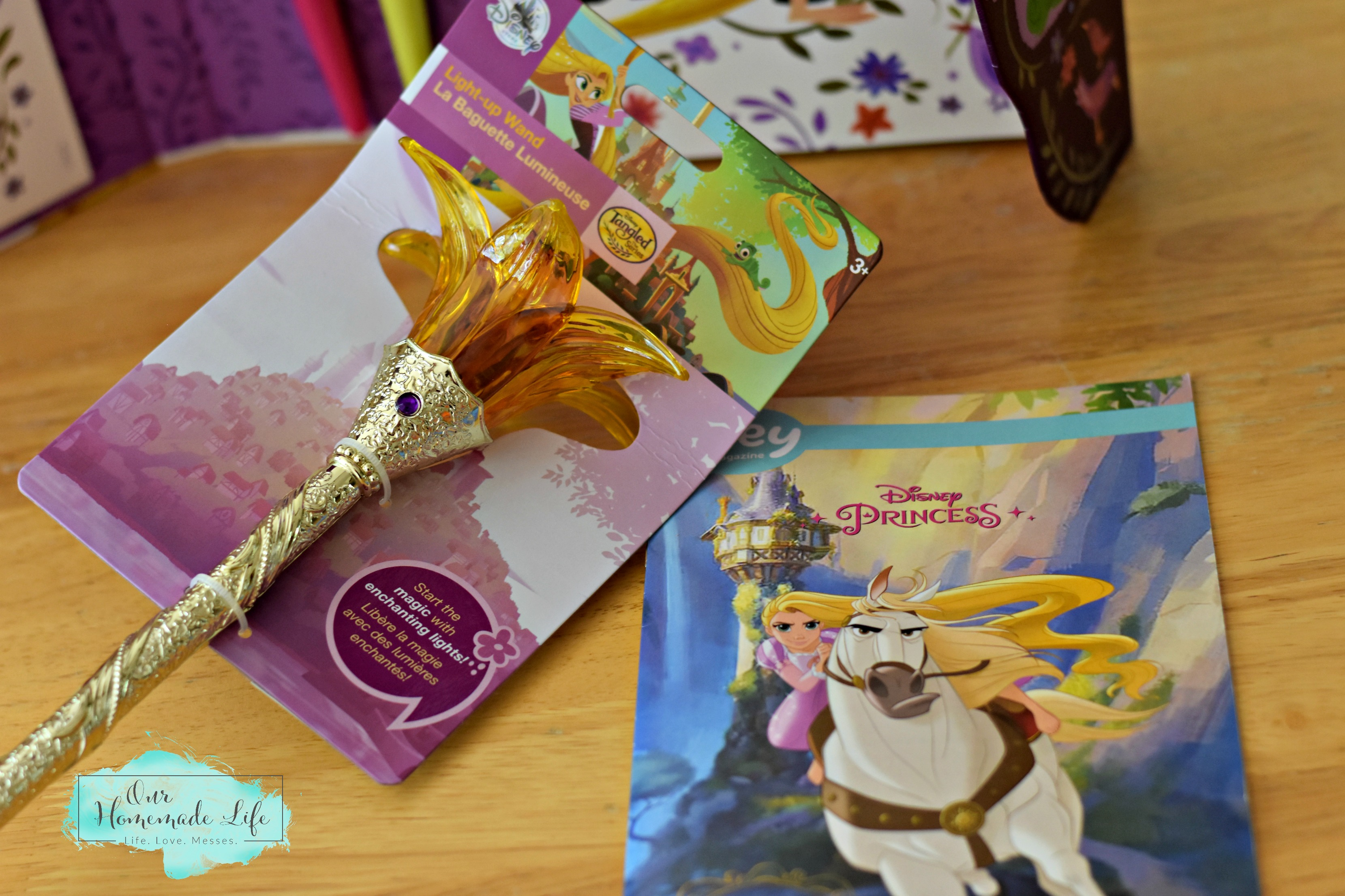 Disney Princess Pley Box Rapunzel Light Up Wand