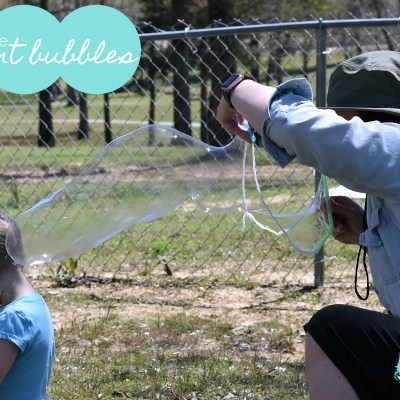 DIY Homemade Bubbles (Giant Size)
