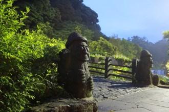 Grandfather Stones of Jeju Island