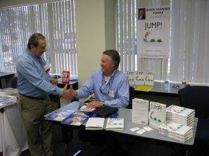 Robert S. Tipton JUMP! Book Signing Summer 2010