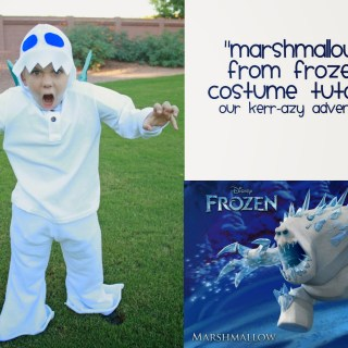 Marshmallow From Frozen Costume Tutorial