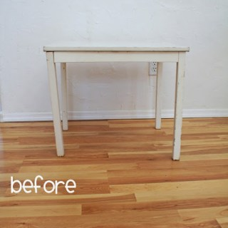 Play Table Makeover