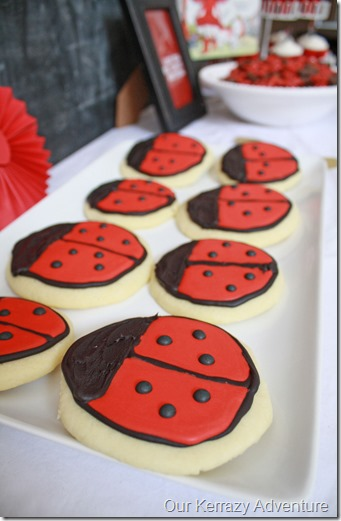 Lady Bug Cookies Our Kerrazy Adventure
