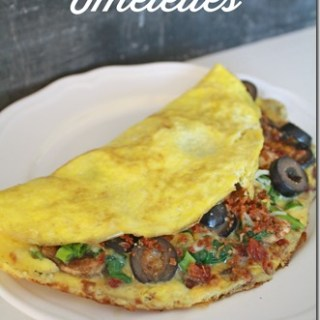 Easy Dinner Idea: Omelettes